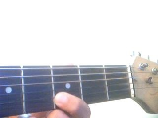 guitar fretting finger